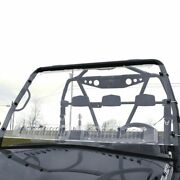 Aero-vent Front Windshield For 2012-2014 Arctic Cat Prowler With Round Bars