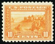 404 Mint 10andcent Vf Never Been Hinged With Graded Psag Certificate - Stuart Katz