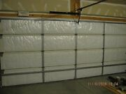 Nasatech Reflective 2 And 1 Car White Foam Garage Door Insulation Kit 16x7 And 9x7