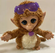 Furreal Friends Baby Cuddles My Giggly Monkey Pet Plush Ages 4+ Toy Tested