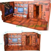 Toy Story Background Display No.1 Console Cardboard Model Ts-01 For Transformers
