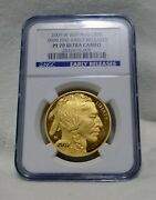2009 W American .9999 Gold Buffalo Proof 1 Oz 50 Ngc Pf70 Ucam Early Releases