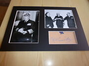Admiral Chester W. Nimitz Wwii Us Navy Mounted Photograph
