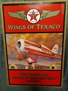 New 1930 Travel Air Model R Mystery Ship Wings Of Texaco 5th Series Coin Bank