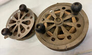 Vintage Pflueger Sal-trout No. 1558 And Taxie Fly Fishing Reels Clean Working