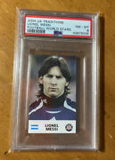 Lionel Messi 2004 Uk Traditions Football World All Stars Psa 8 Nm-mt