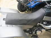 Yamaha Banshee Seat Cover Black Color And Black Flame Seat Cover