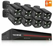 Two-way Face Detection Surveillance Camera Outdoors Video Recorder Security Cctv