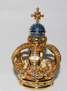 Crown Our Lady Of Fatima Original -brass To Bathroom Gold