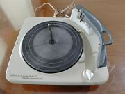 Telefunken Deluxe Turntable Record Player From Console Cabinet Stereo