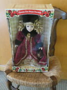 Genuine Fine Bisque Porcelain Doll 17 Collectors Choice Limited W/ Certificate