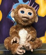 Hasbro Furreal Friends Cuddles My Giggly Monkey Interactive Pet Toy 2012 Works