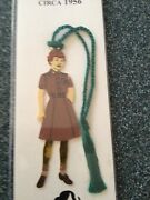New Girl Scout Bookmark Ornament Brownie Volunteer Leader Or Scout Gift