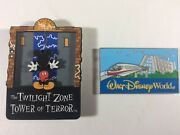 Disney World 1990s Magnets Twilight Zone Tower Of Terror Monorail Contemporary