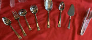 Reed And Barton Holbrook 18/10 Stainless Steel 8 Piece Serving Set Flatware New