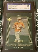 Tom Brady 254 2000 Rookie Upper Deck Encore Sgc Graded 9 96 Mint