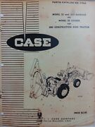 Case 580 Ck Tractor 33 Loader And 335 Backhoe Implement Attachments Parts Manual