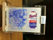 Anthony Rizzo 2015 Topps Dynasty Patch Auto Tag Logo /10 Chicago Cubs