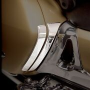 Show Chrome Saddlebag Scuff Pads Steel For Honda Gl1800 Gold Wing 2001-2010