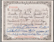 1930 Prohibition Pharmacy Prescription For Whiskey - Extremely Rare