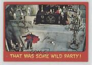 1976 Topps Shock Theater Printed In Usa Gray Back That Was Some Wild Party C9a