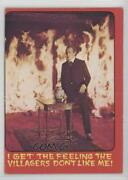 1976 Topps Shock Theater Printed In Usa Gray Back I Get The Feeling… 4 C9a