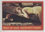 1976 Shock Theater Printed In Usa Gray Back Wake Up Dear Breakfast's Ready C9a