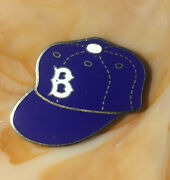 Vintage 1953 Brooklyn Dodgers World Series Press Pin Dieges And Clust New York