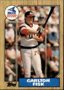 1987 Topps Chicago White Sox Single Player Cards ------pick A Card----