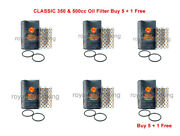 Classic 350 And 500cc Oil Filter Buy 5 +free 1 For Royal Enfield