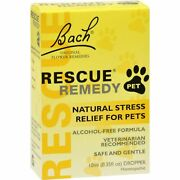 Bach Flower Remedies Rescue Remedy Stress Relief For Pets   10 Ml   10 Pack
