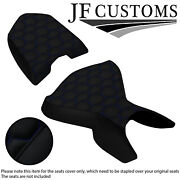 Blue Hex St For Ducati Multistrada 04-09 Ds 1000 Custom Front Rear Seat Cover