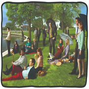 The Office Group Park Image Throw Blanket Multi-color