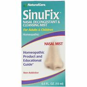 Natural Care Sinufix Nasal Decongestant And Cleansing Mist   0.5fl Oz   Pack Of 10