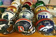 You Pick Nfl Autographed Full Size Helmet With Coa