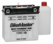 Bikemaster Performance Conventional Battery For Yamaha Dt125 1974-1976 White