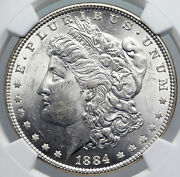 1884 P United States Of America Silver Morgan Us Dollar Coin Eagle Ngc I89176