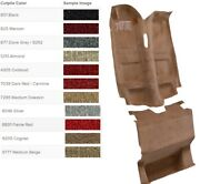 Complete Molded Carpet Replacement Kit For Chevy Camaro 1982-1992 Pick Color Acc