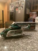 2012 Hess Helicopter And Rescue Truck- New In Box With Hess Carrying Truck