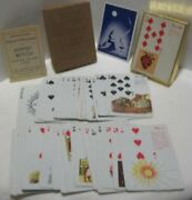 Old Vintage Gypsy Witch Fortune Telling Playing Cards In Box - Halloween Game
