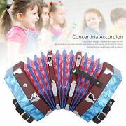 Concertina Accordion For Beginners Musical Instrument Supplies With Carrying Bag
