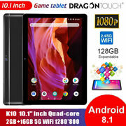 Dragon Touch Tablet 10.1 Inch Android 8.1 Quad-core 2+16 Gb 5g Wifi Tablet Gps