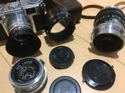 [excellent++] Nikon S2 Silver Body Nikkor 50mm 35mm 105mm Viewfinder From Japan