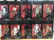 Star Wars The Black Series 6 Inch Red Line 1-10 New Sealed