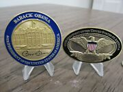 Lot Of 2 Barack Obama 44th President Of The United States Potus Challenge Coins