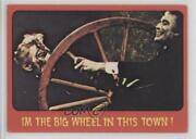 1976 Topps Shock Theater Cream Back I'm The Big Wheel In This Town 38 C9a