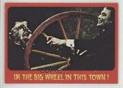 1976 Shock Theater Printed In Usa Gray Back I'm The Big Wheel This Town 38 C9a