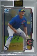 2021 Topps Archives Signature Series 1/1 Kris Bryant Manufacturer Buy Back Auto