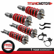 Front And Rear Coilovers Struts For Honda Ef Civic Crx 1988-1991 Height Adjustable