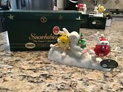 2004 Department 56 Snowbabies Mandm's A Candy Coated Christmas 56.69802